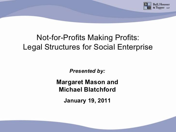 Not-For-Profits Making Profits