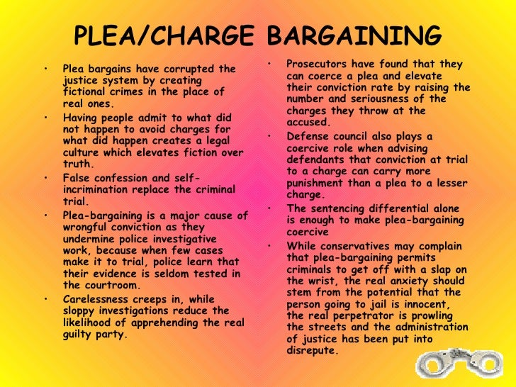 definition and importance of plea bargainning in criminal trials When race tips the scales in plea bargaining  a prosecutor's plea offer and most criminal punishment results—not from a trial by a jury of your peers—but in .