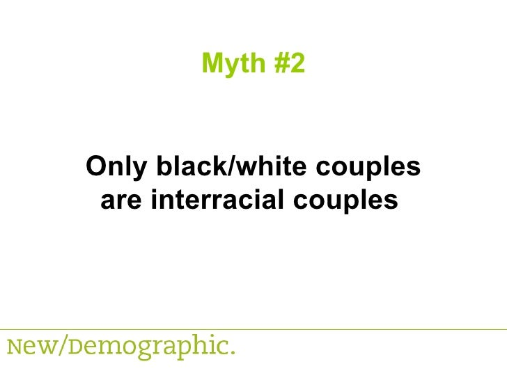 Interracial dating myths