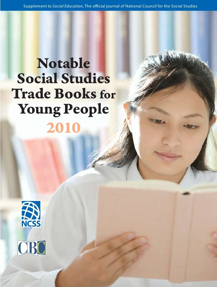 Supplement to Social Education, The official journal of National Council for the Social Studies   Notable Social StudiesTr...
