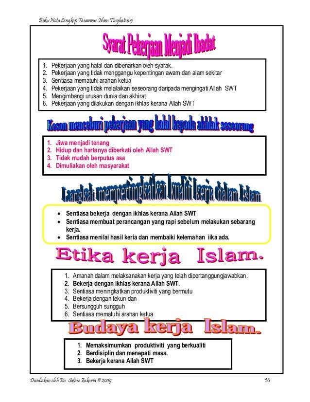 Nota Lengkap Tasawwur Islam Ting 5