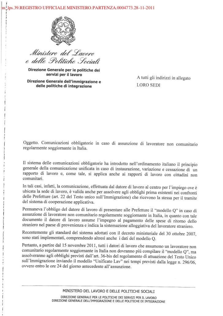 m_lps.39.REGISTRO UFFICIALE MINISTERO.PARTENZA.0004773.28-11-2011