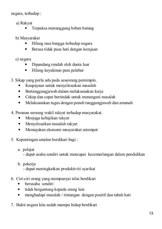 Contoh essay pendidikan moral