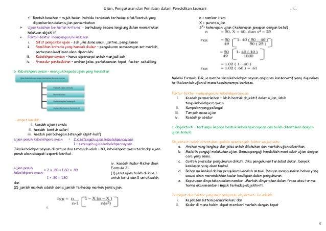 Ujian, Pengukuran dan Penilaian dalam Pendidikan Jasmani                                                     Fsaa        ...