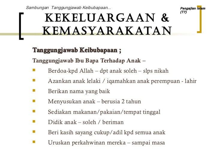 Nota Pengajian Islam Mpw 1143 T7