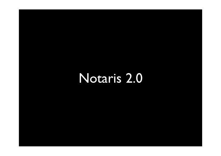 Notaris 2.0