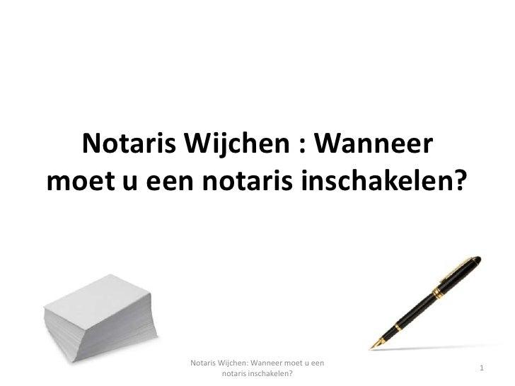 notaris wijchen