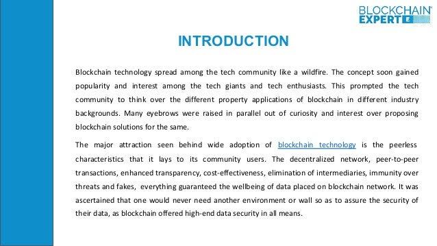 Notarization in Blockchain Slide 2