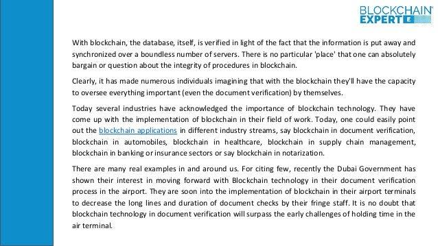 Notarization in Blockchain Slide 3