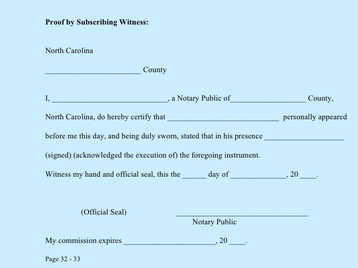 Notary public class