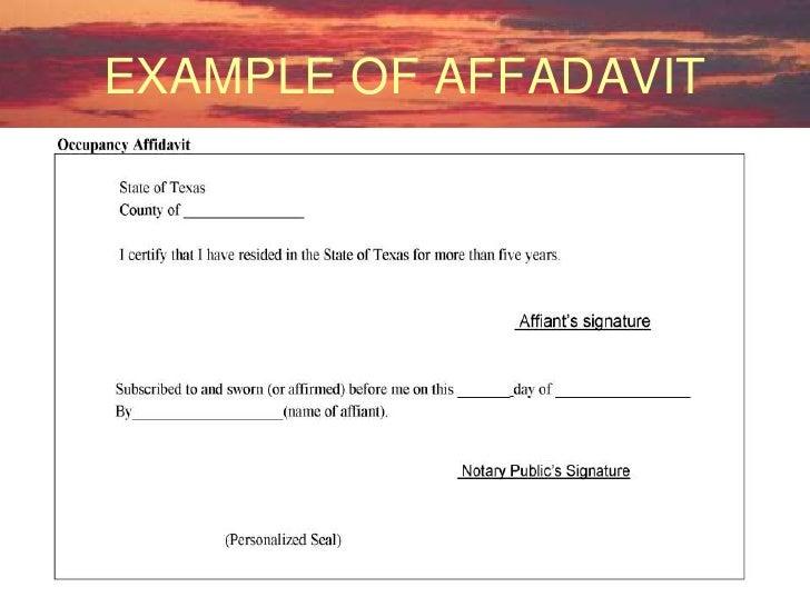 Texas Notary Seminar Format