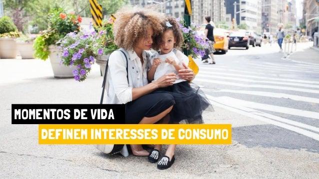 MOMENTOS DE VIDA DEFINEM INTERESSES DE CONSUMO