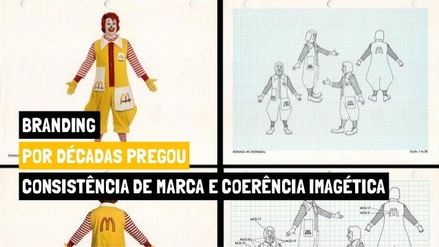 BRANDING POR DÉCADAS PREGOU CONSISTÊNCIA DE MARCA E COERÊNCIA IMAGÉTICA