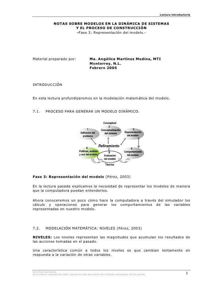 KTN07-MODELOS EN LA DINÁMICA DE SISTEMAS Y EL PROCESO DE CONSTRUCCIÓN