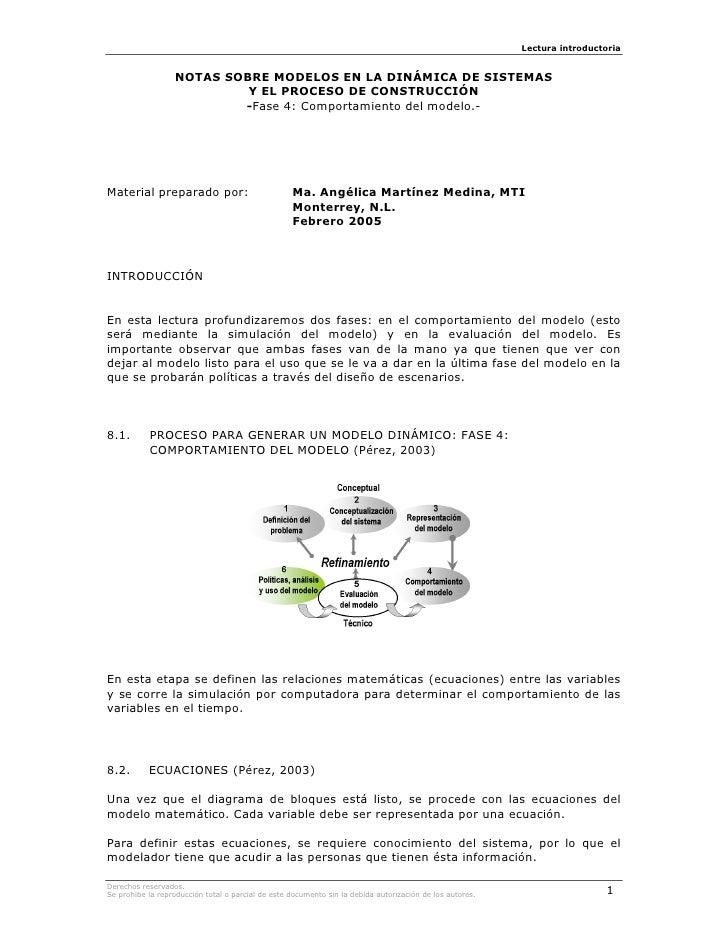 KTN08-MODELOS EN LA DINÁMICA DE SISTEMAS Y EL PROCESO DE CONSTRUCCIÓN