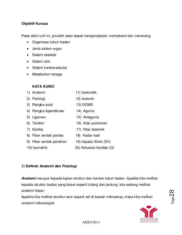 AKK©2013 Page28 Objektif Kursus Pada akhir unit ini, jurulatih akan dapat mengenalpasti, memahami dan menerang  Organisas...