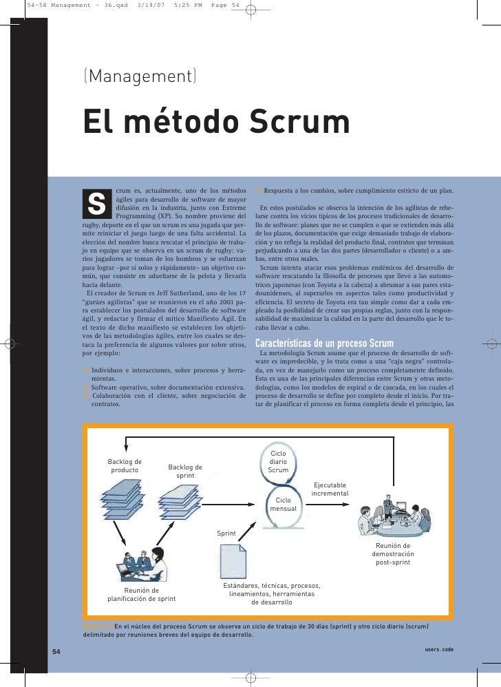 54-58 Management - 36.qxd       3/19/07     5:25 PM      Page 54                  (Management)               El método Scr...