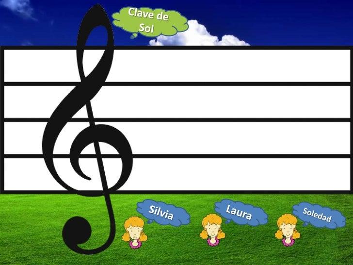 Notas Musicales Si La Y Sol