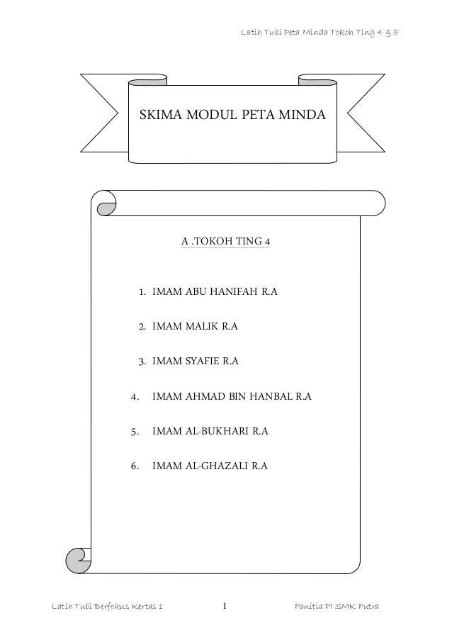 Nota Tokoh Pendidikan Islam Tingkatan 4 5