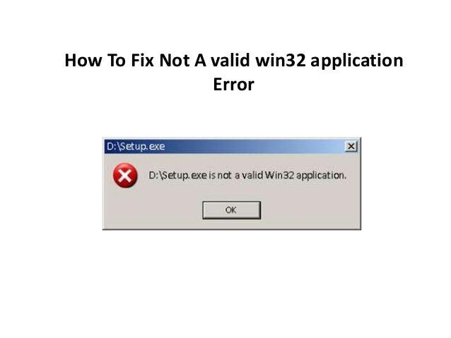 application win32 valid gratuit