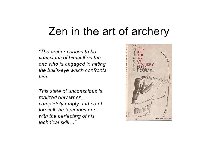 zen and the art of archery