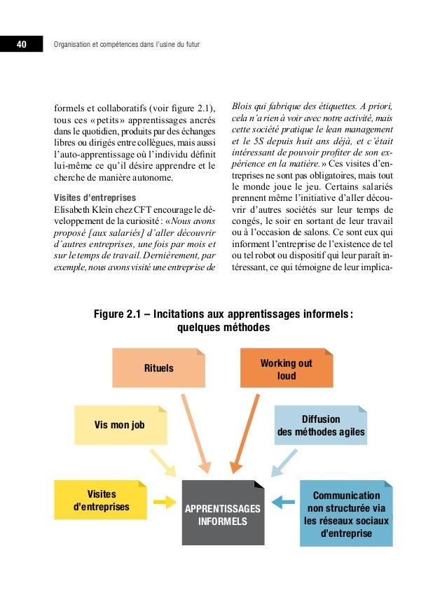 Organisation Et Competences Dans L Usine Du Futur Vers Un