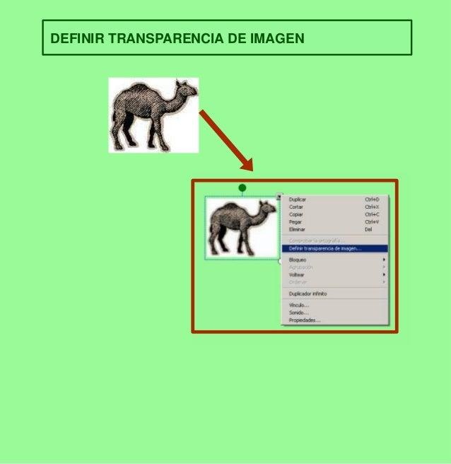 DEFINIR TRANSPARENCIA DE IMAGEN