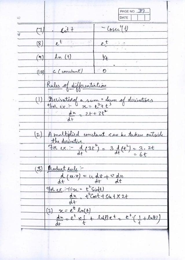 IIT JEE PHYSICS Class Notes by Ambarish Srivastava (Part 1)