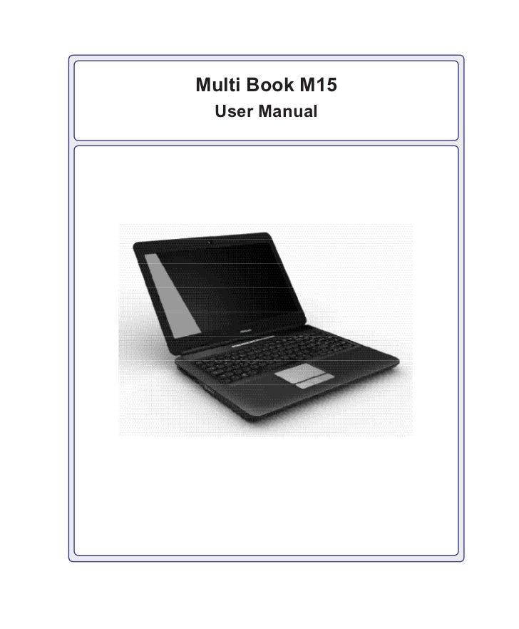Multi Book M15 User Manual
