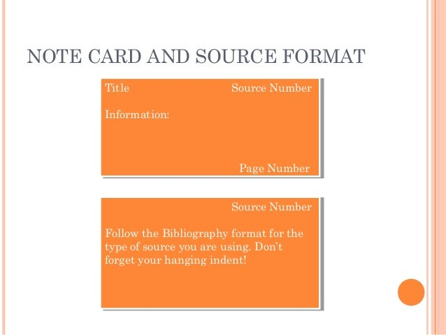 what goes on a source card for a research paper Source card research paper - essays & researches written by top quality writers experience the merits of expert writing help available here why be concerned about the review.
