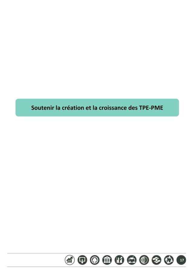 17 SoutenirlacréationetlacroissancedesTPE‐PME