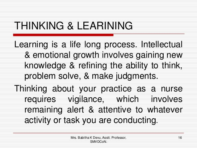 what is sensing process of critical thinking Critical thinking is the opposite of all of this it often requires a lot of time, questions, and considerations it also involves a longer process before.