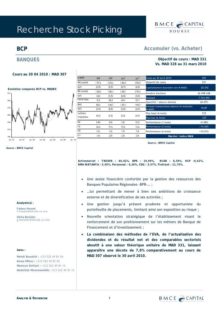 Recherche Stock Picking              BCP                                                                                  ...
