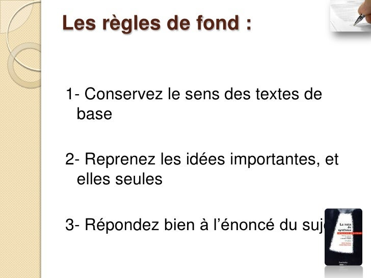 Les règles de forme :4- Trouvez une présentation typographique attrayante5- Respectez la grammaire et l'orthographe6- Expr...