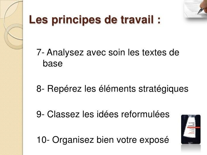 Schéma du travail préparatoire première    étape: Analyse du texte; deuxième    étape: Construction du plan; troisième ...
