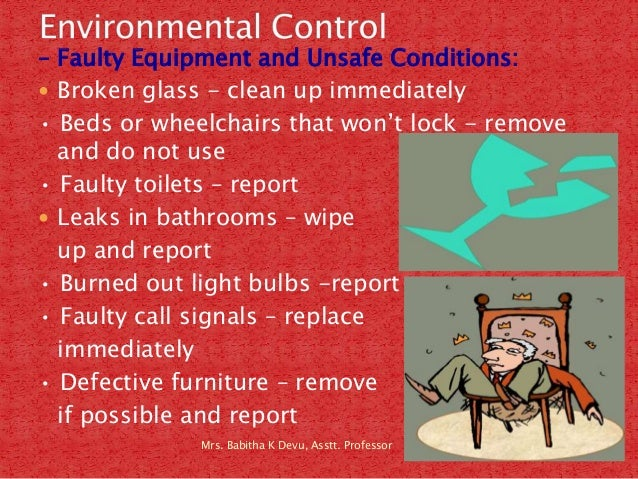 Babitha S Note On Providing Safe Amp Clean Environment