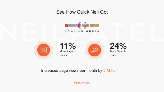 See How Quick Neil Got $15Million in Revenue 26%More Traffic Generated