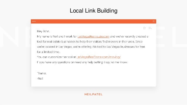 Local Link Building