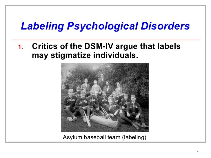 Notes psychological disorders