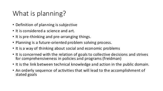 Introduction to town and Urban planning Slide 2