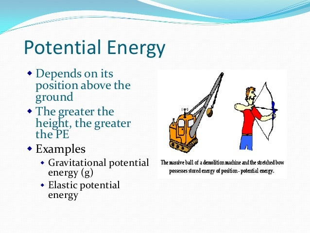 Potential Energy Examples Sc 1 St The Physics Classroom