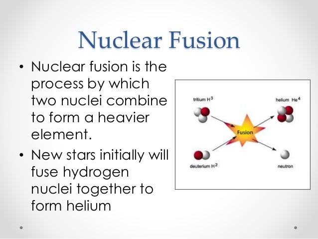 Nuclear Fusion Diagram In Stars Image Information