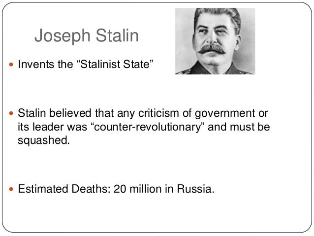 the dichotomy of justification for violence in stalin socialism From from (the) editors (1901) an article in a socialist newspaper-- stalin was   the roots of violence ran deep in his family life and in gori, his hometown,  where  but it turns out that he'll use any means if he thinks the ends justify them.