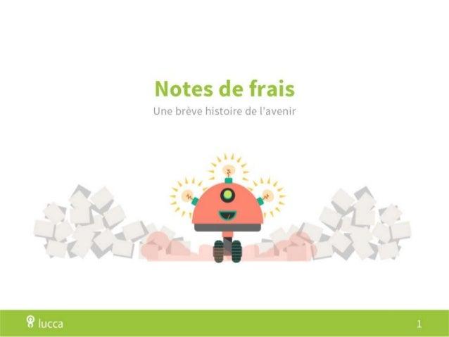 Notes de frais - une brève histoire de l'avenir