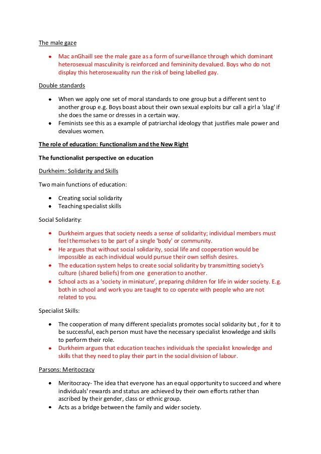 Sociology and Certain Way Essay Sample