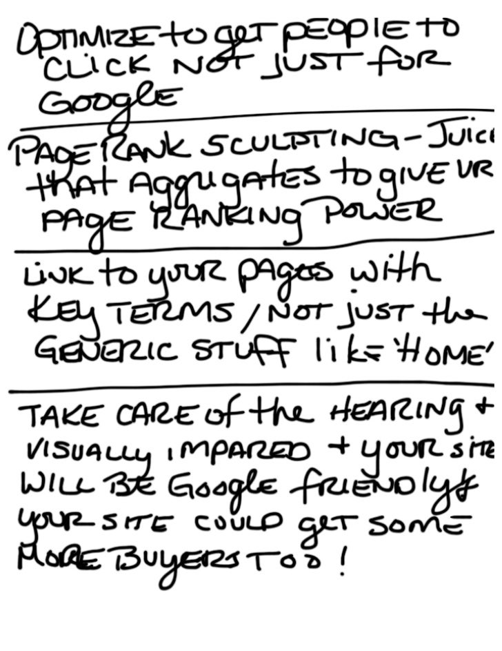 ColderICE Notes From Emarketing for SEO Slide 2