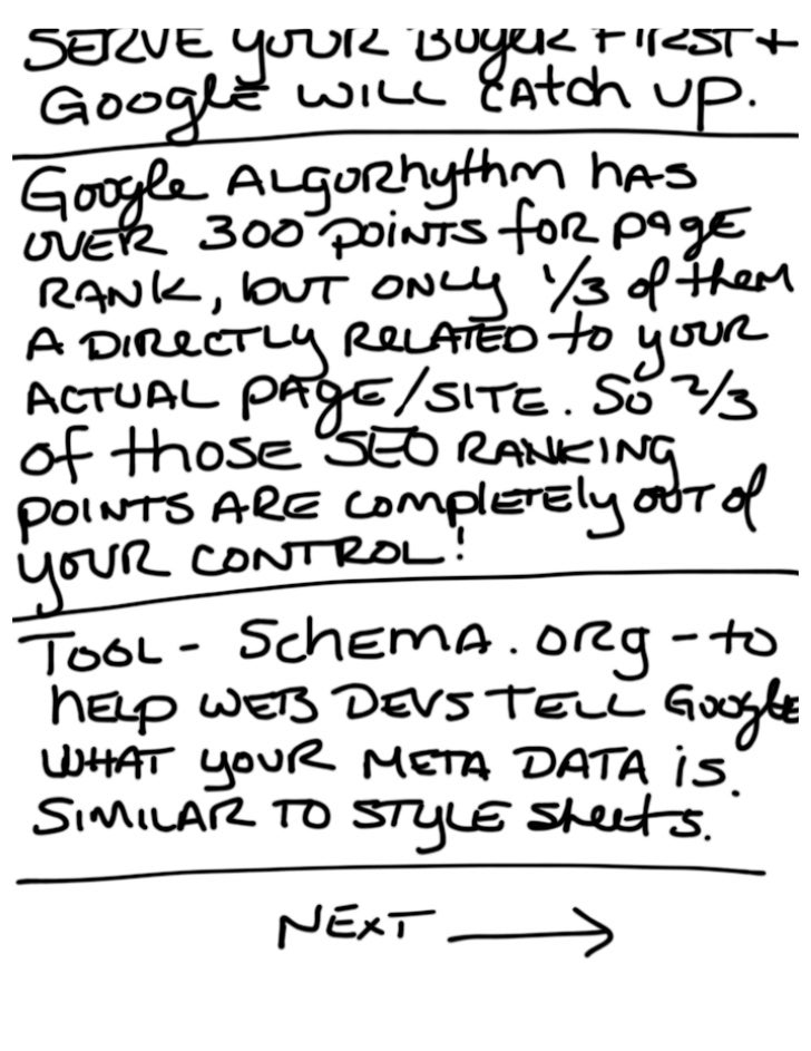 ColderICE Notes From Emarketing for SEO Slide 3