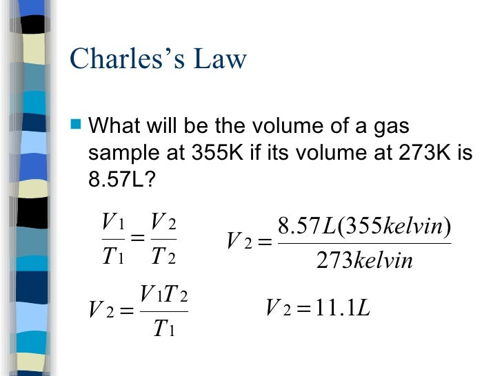 Combined gas law example gallery example of resume for student.