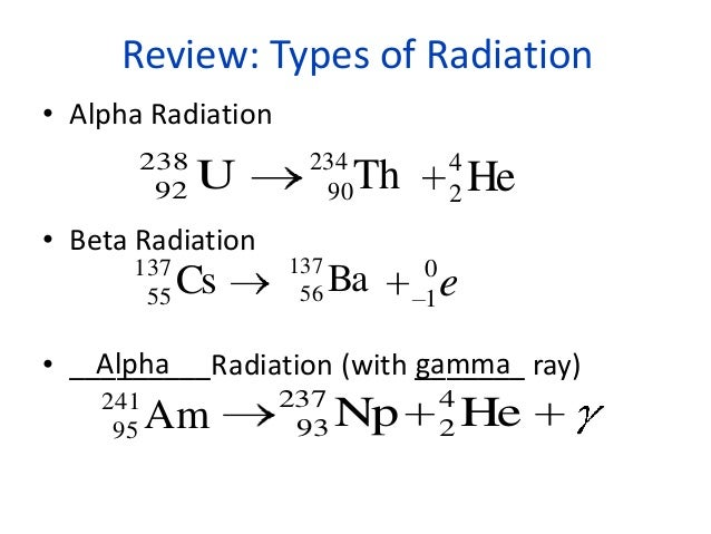 Notes Nuclear Chemistry