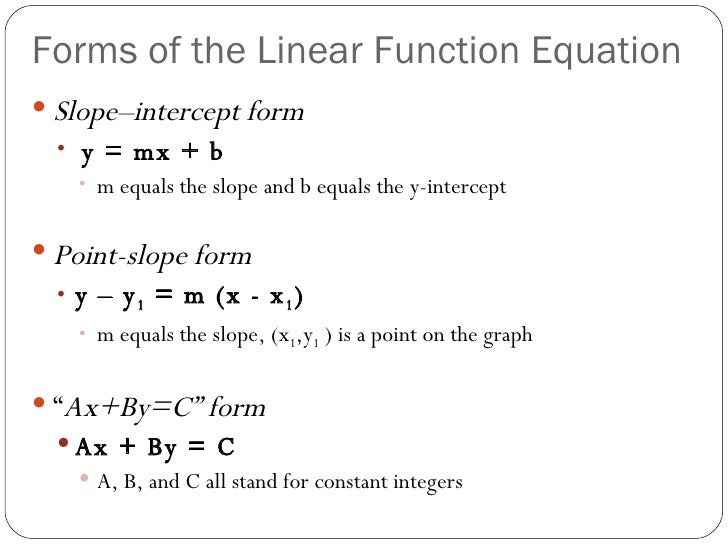 Homework help services linear equations